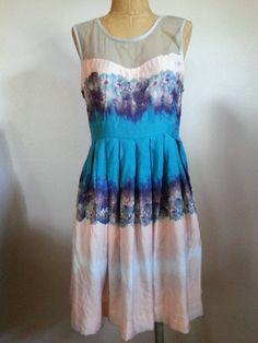 @Urban Outfitters #KimchiBlue #Lady #Flower #Watercolor #Dress Size 8 on @eBay! http://r.ebay.com/9Jgnfu #Fashion #Style #WeddingSeason #Summer