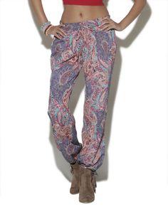 Like the pant/shoe combo Paisley Soft Pant - WetSeal
