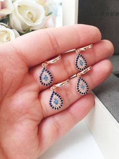 Stone Processing Design Stone Earrings Cristal For Wedding and Special Day Earrings Ring Wedding Engagement Earrings Turkish Style Earrings