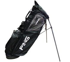 Best Golf Bags | NEW Ping Hoofer 154 Black CarryStand Golf Bag -- Check out this great product. Note:It is Affiliate Link to Amazon.