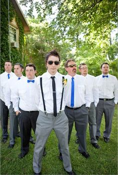 Photo: Sarah Ainsworth Photography #groom #groomsmen