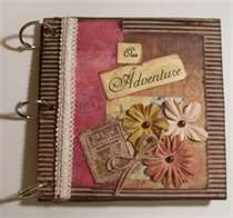 This site has so many ideas for mini albums!