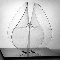 Naum Gabo Spheric Theme: Translucent Variation this version executed 1951 as a replacement of original of Perspex, diameter cm Solomon R. Guggenheim Museum, New York shearing Bauhaus, Art Sculpture, Abstract Sculpture, Sculpture Ideas, Modern Art, Contemporary Art, Kinetic Art, Art Object, Installation Art