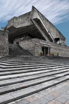 Teatro de la Escuela Politécnica- Oswaldo de la Torre  © Andrés Villota Quito, Ecuador