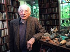 """Stanley Kunitz: """"A poem has secrets that the poet knows nothing of. It takes on a life and a will of its own."""""""