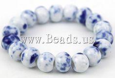 Pulsera de Porcelana, hecho a mano, http://www.beads.us/es/producto/Pulsera-de-Porcelana_p91800.html