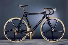 I'm not really sure what Colnago wanted this bike to be...but it sure is purdy.