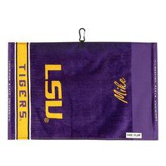 Team Effort LSU Tigers Jacquard Towel, Multicolor