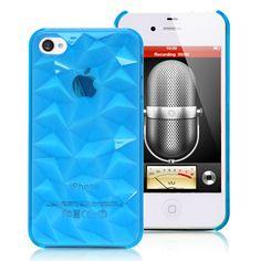 3D Rhinestones iPhone 4 case