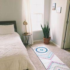 Always ready. The Mandala print peshtemal towel is a perfect fit for your yoga mat. #yoga #mandala #laviebohemeyoga