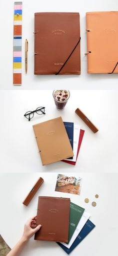 The stylish Prelude A5 Planner Leather Binder is the perfect binder to  build your own personalized dcb3551e7af