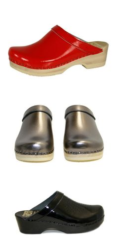 DEAL OF THE DAY: $135.00 Plain Clog – 2″ Low Heel – Bendable or Non Bendable Women's or Men's You choose any leather type and color. Choose base color! https://www.svensclogs.com/catalogsearch/result/?q=plain+clog+leather+collar FREE SHIPPING CODE: free ship