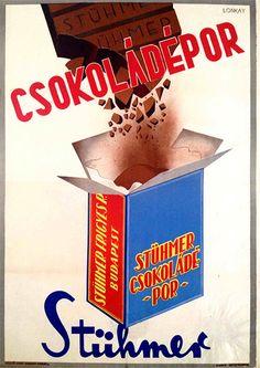 Stühmer chocolate powder (Lonkay Antal, 1947.)