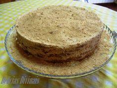 Receitas práticas de culinária: Bolo de Bolacha com Creme de Café