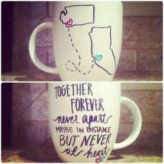 Cute idea for friends that live far away!