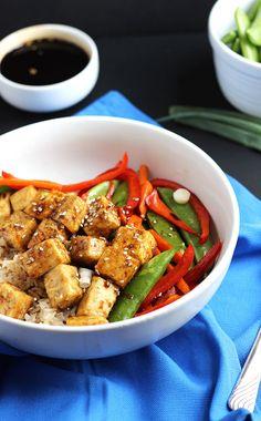 Vegan Tofu Teriyaki