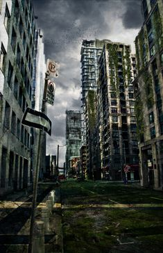 post apocalyptic future maybe