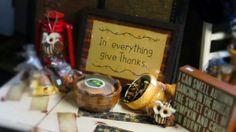 Thanksgiving / Autumn Boutique Store Displays, Boutique Stores, In Everything Give Thanks, Thanksgiving, Thankful, Autumn, Fall Season, Clothing Boutiques, Thanksgiving Tree