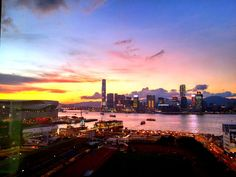 What a beautiful Victoria Harbour by leocary