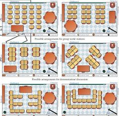 Seating Arrangement | Includes a PDF from Effective Room Arrangement by Carolyn Evertson, Ph.D. & Inge Poole, Ph.D. at Vanderbilt University of seating arrangements