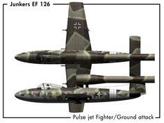 Junkers EF126 Pulse Jet FGA concept