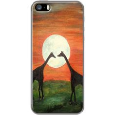 Giraffe Love I AM ROMANTIK By A-R-T by RokinRonda for Apple  iPhone 5/5s @Alec Cohen TheKase