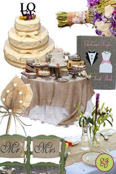 burlap wedding | Burlap Wedding Ideas Inspiration Board | gooseberry gala Wedding Show, Chic Wedding, Perfect Wedding, Fall Wedding, Wedding Styles, Our Wedding, Dream Wedding, Wedding Stuff, Wedding Sweets