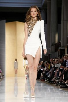 Alexandre Vauthier Fall Winter Couture 2012 on show in Paris