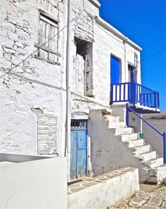 Medieval houses Greece House, Medieval Houses, Greek Islands, More Photos, Stairs, Outdoors, Places, Home, Greek Isles