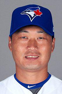 Seung Hwan Oh - Toronto Blue Jays 2018 Right Handed Pitcher Baseball Videos, Sports Baseball, Baseball Hats, Fantasy News, Seung Hwan, The Great White, Basketball Legends, Toronto Blue Jays, Go Blue
