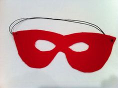 How to Make a Super Hero Mask and Wristbands