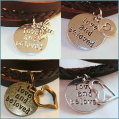 Bracelet Inspired by Alex & Ani Leather Charms, Love and Be Loved Your Choice  Cheap