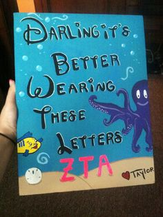 Items similar to Little Mermaid Sorority Painting on Etsy Gamma Sigma Sigma, Delta Phi Epsilon, Kappa Kappa Gamma, Delta Gamma, Alpha Phi Omega, Pi Beta Phi, Alpha Sigma Alpha, Chi Omega, Big Little Gifts