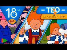 TEO | Colección 11 (Teo y los medios de transporte 2) | Episodios completos para niños | 18 minutos - YouTube