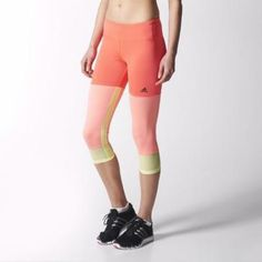 adidas Workout Tights L Flash Red #hosiery #adidas #workout #covetme