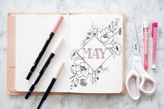 MAY BULLET JOURNAL Ideas Weekly Spread
