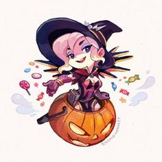 #Overwatch #Halloween #Dessin onemegawatt #Fête #JeuVideo Overwatch Mercy, Chibi Overwatch, Overwatch Funny Comic, Overwatch Fan Art, Overwatch Drawings, Kaito, Game Character, Character Design, Scrappy Quilts