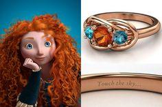 Disney Princess Jewelry, Disney Jewelry, Stylish Jewelry, Cute Jewelry, Disney Fun, Disney Style, Disney Rings, Disney Wedding Rings, Skull Fashion