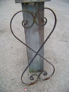 Vintage Cast Iron Wall Hanging Salvaged by AlloftheAbove on Etsy, $69.00