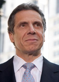 Andrew Mark Cuomo is an American politician who has been the 56th Governor of New York since January 1, 2011. A member of the Democratic Party, he was elected in 2010, holding the same position his father, Mario Cuomo, held for three terms from 1983 to 1995.