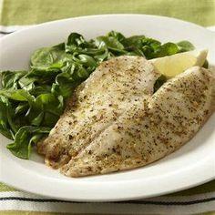 Lemon Herb Fish Recipe
