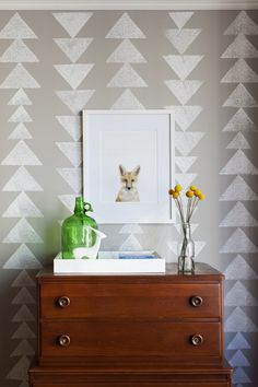 Nice wallpaper for the corridor or any other place with a small cute wall waiting to look great