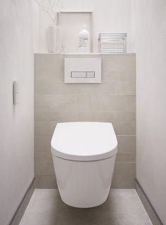 House Bathroom, Small Toilet Room, Small Toilet, Wc Design, Bathroom Interior, Small Bathroom, Bathroom Design Luxury, Small Bathroom Renovations, Downstairs Toilet