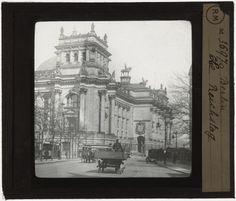 [Plaque de verre du fonds Colbert | EHNE]  Berlin, le Reichstag