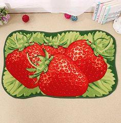US Dreambuy 3D Strawberry Fruit Cute Door Mat Hallway Ant... https://www.amazon.com/dp/B01NBIC8DC/ref=cm_sw_r_pi_dp_x_Nw0yybKG6FD1S