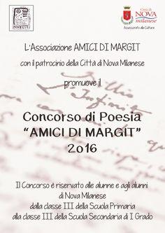 Concorso di poesia Amici di Margit - Edizione 2016