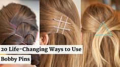 20 Life-Changing Ways to Use Bobby http://www.cosmopolitan.com/hairstyles-beauty/skin-care-makeup/life-changing-bobby-pin-tricks