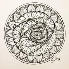 Zen Art Challenge with Mindful Creativity – Days 1 – 7 – CraftyArtistKC