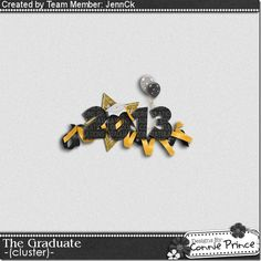 Scrapbooking TammyTags -- TT - Designer - Connie Prince, TT - Item - Element, TT - Style - Cluster, TT - Theme - Graduation or School