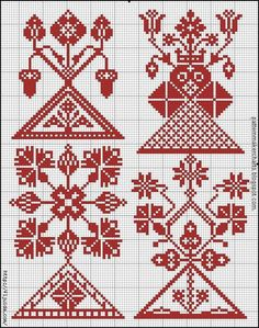 Pagan Cross Stitch, Russian Cross Stitch, Cross Stitch Borders, Cross Stitch Samplers, Cross Stitch Designs, Cross Stitching, Cross Stitch Patterns, Russian Embroidery, Blackwork Embroidery